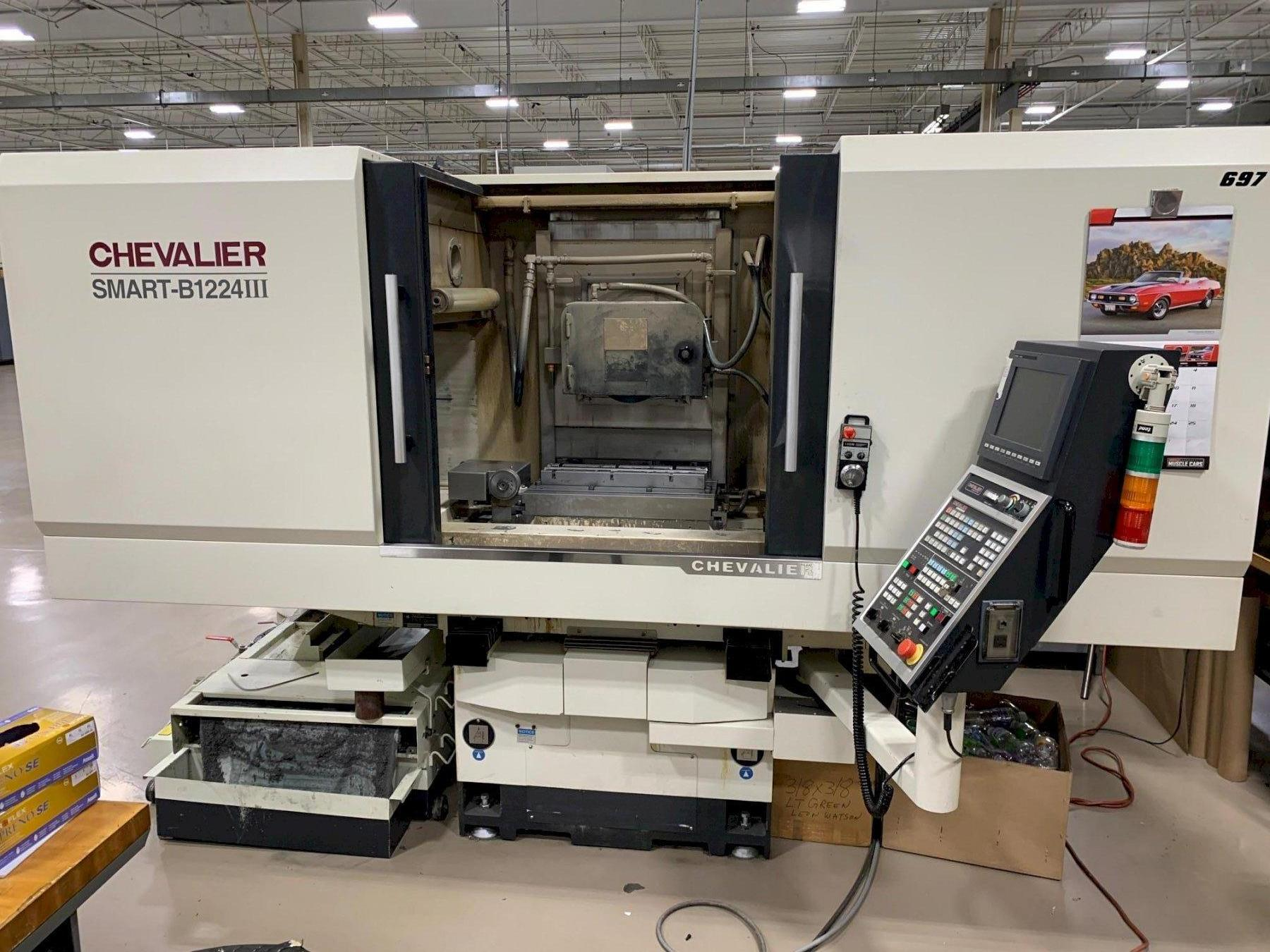 "12"" x 24"" CHEVALIER MODEL #SMART-B1224III CNC HYDRAULIC HORIZONTAL SURFACE GRINDER: STOCK 12745"
