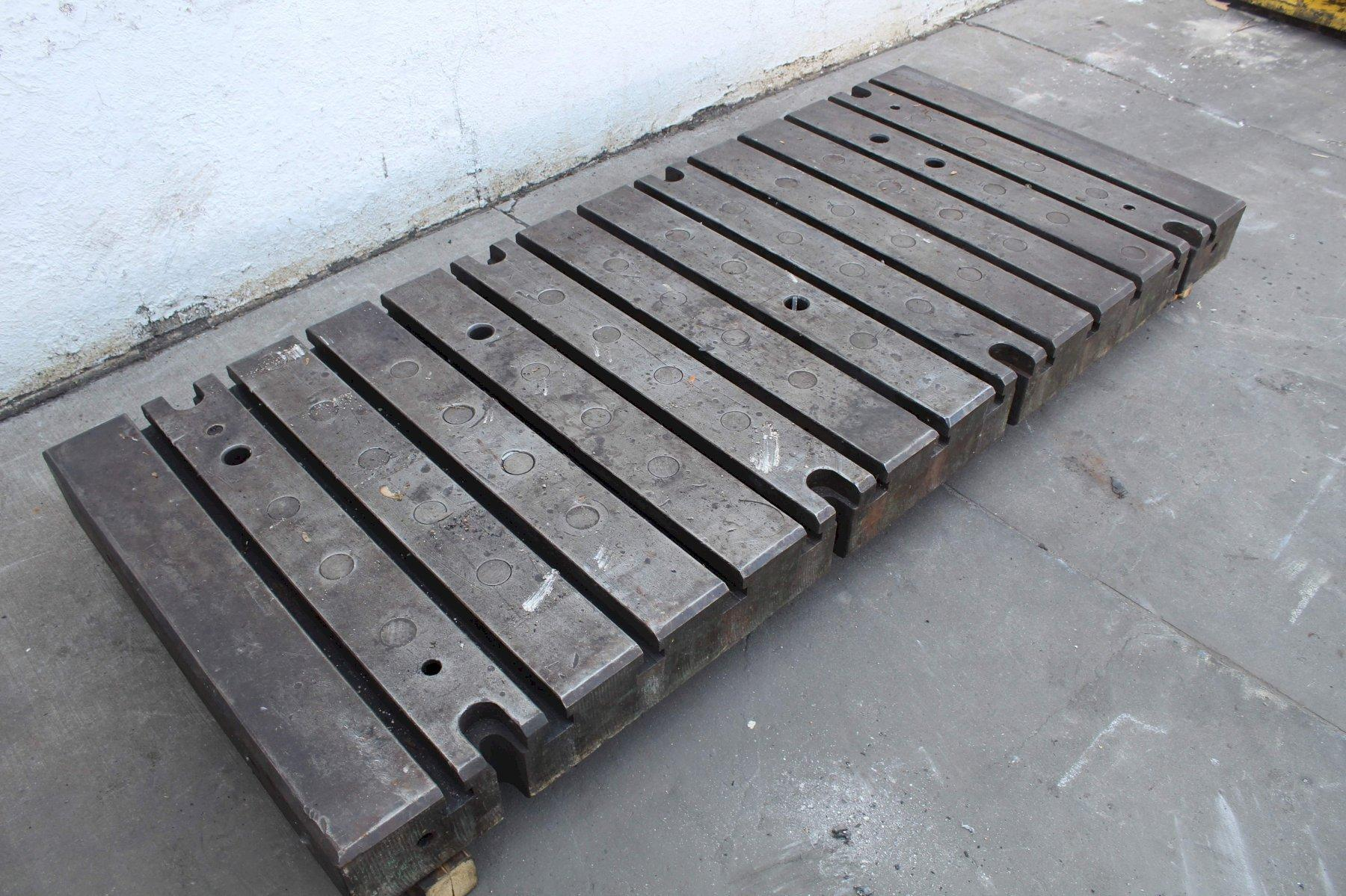 84' X 36' T SLOTTED BOLSTER PLATE: STOCK # 72000 #71962