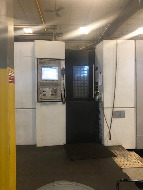 "Mori Seiki NH-6300DCG II CNC Horizontal Machining Center, 24.8""x24.8"" Pallets, 1-Degree, MSX 701 CNC Control, 8K RPM, CAT 50, Cool Thru, 2 Pallets , 50 HP,  (New 2011)"