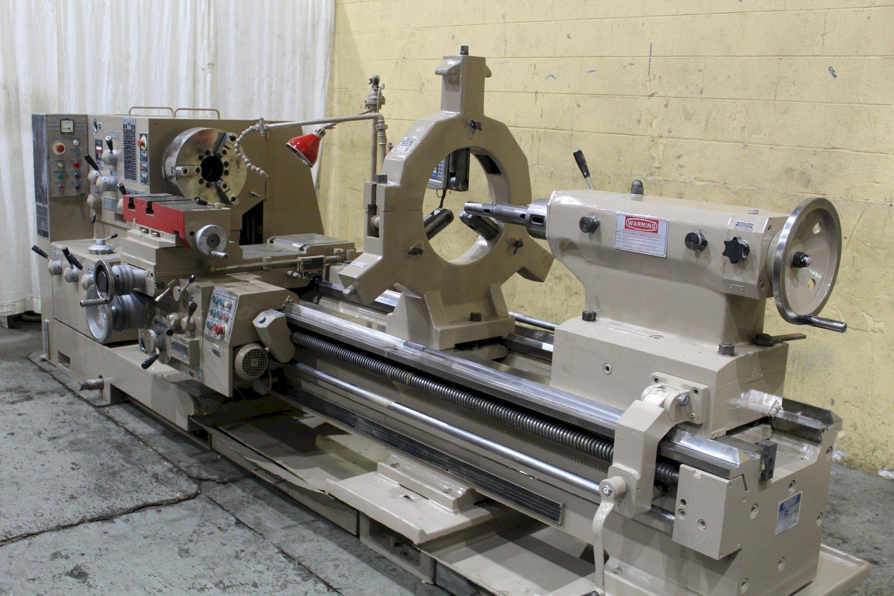 "38"" X 96"" POREBA ENGINE LATHE: STOCK #73804"
