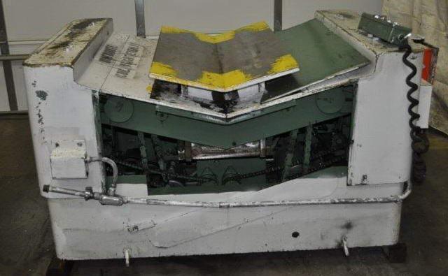 """16,000 Lb ROWE BGY-16-24 Coil Car, 50"""" W x 60"""" OD Coil, 5-1/2 HP   (13780)"""