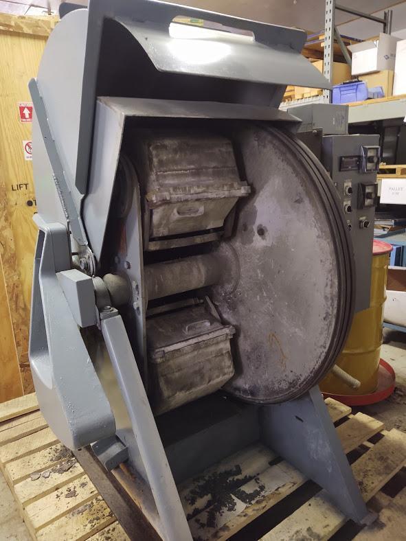 Harperizer Model 2HA12 Finishing Machine, S/N 69H783.