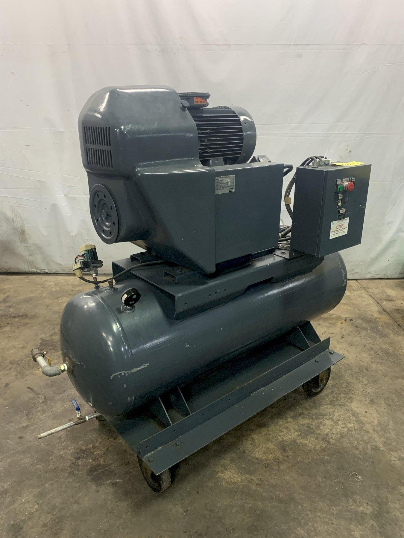10 HP ATLAS COPCO MODEL #GA7 AIR COMPRESSOR: STOCK 13682