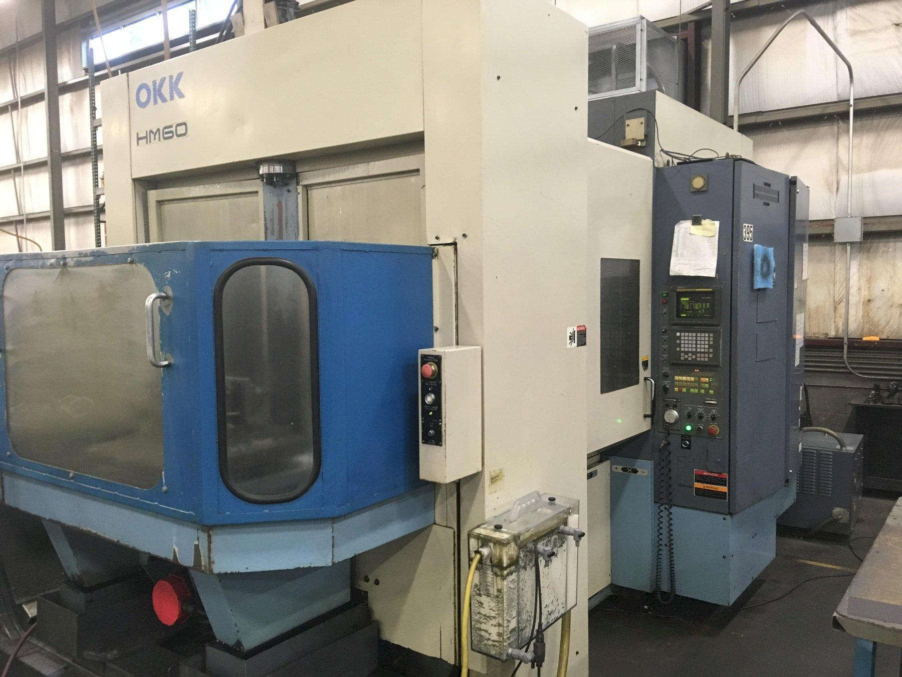 OKK HM60 HORIZONTAL MACHINING CENTER