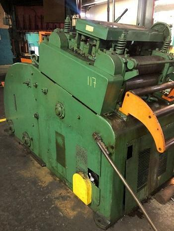 """.187"""" X 18"""" LITTELL #620D-5PD CONTINUOUS STRAIGHTENER AND UNCOILER   Our stock number: 114203"""