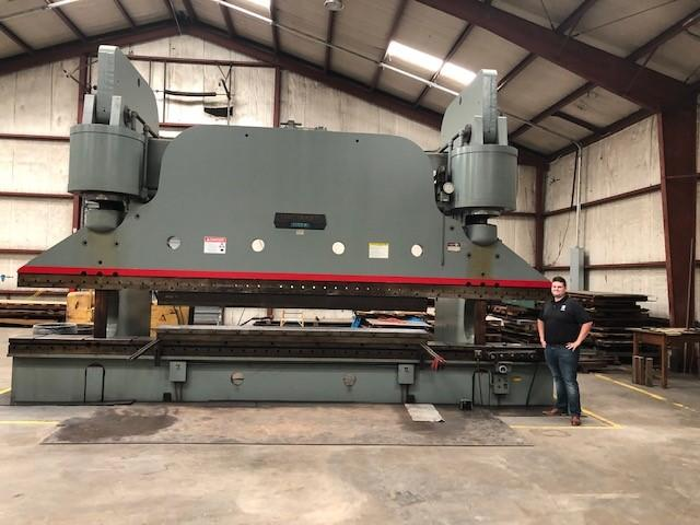 1250 TON x 24' CINCINNATI MODEL 1250H HYDRAULIC PRESS BRAKE: STOCK #10682