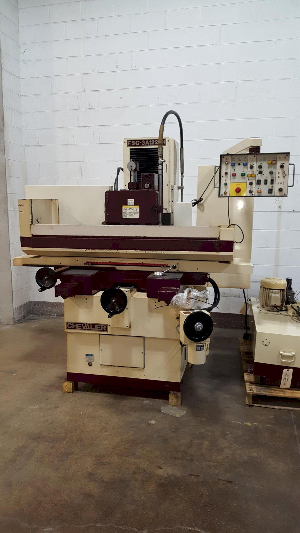 "12"" x 24"" Chevalier Model FSG-3A1224 3-Axis Hydraulic Surface Grinder"