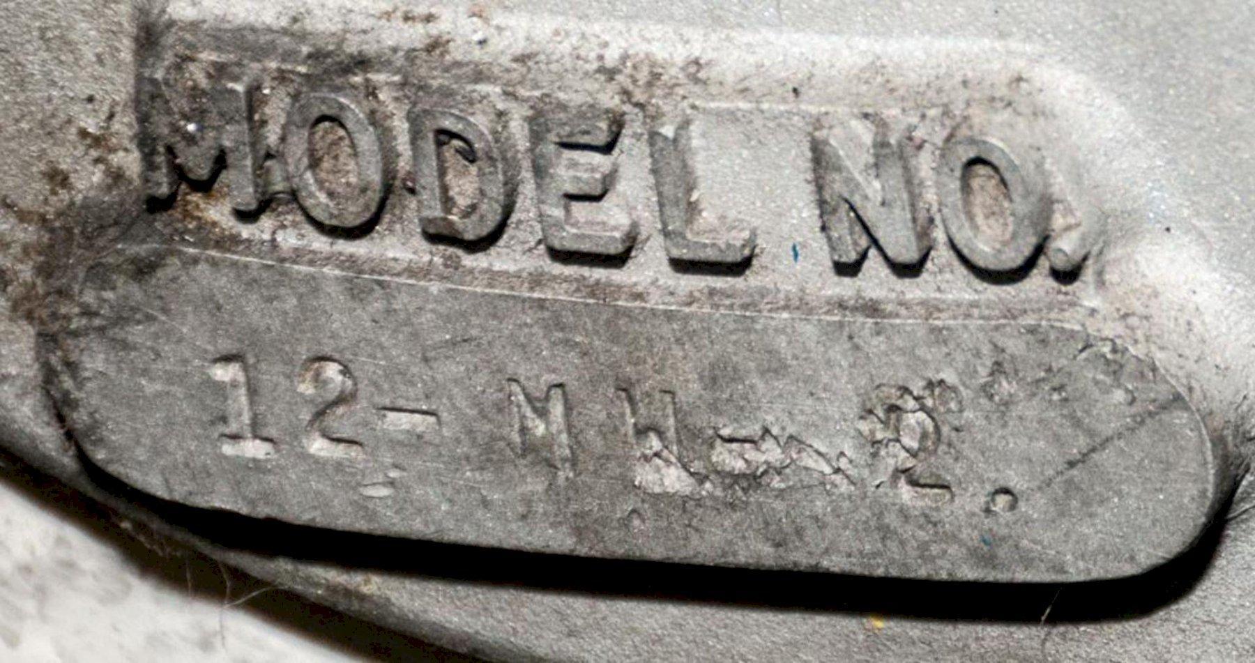 """12 STAND X 2"""" TISHKEN MODEL #12-MW-2 ROLLFORMER: STOCK #0950221"""