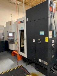 Mazak HCN-5000 II CNC Horizontal Machining Centers(2) w/Palletech 18-Station Cell, Nexus Control, 19.7