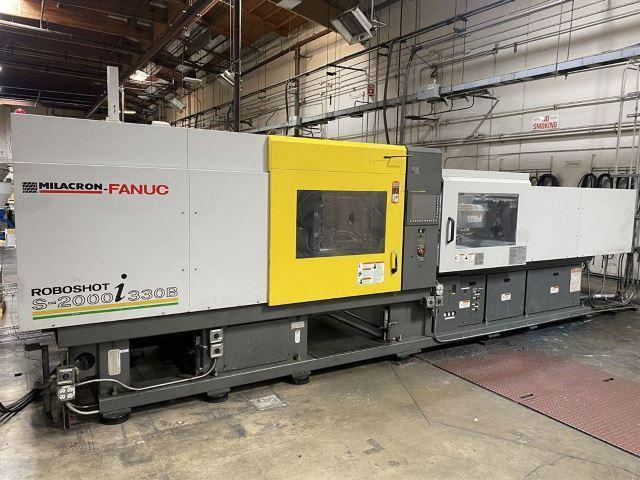 Cincinnati Used Roboshot S2000I-330B  Electric Injection Molding Machine, 330 US ton, Yr. 2007, 31.4 oz.