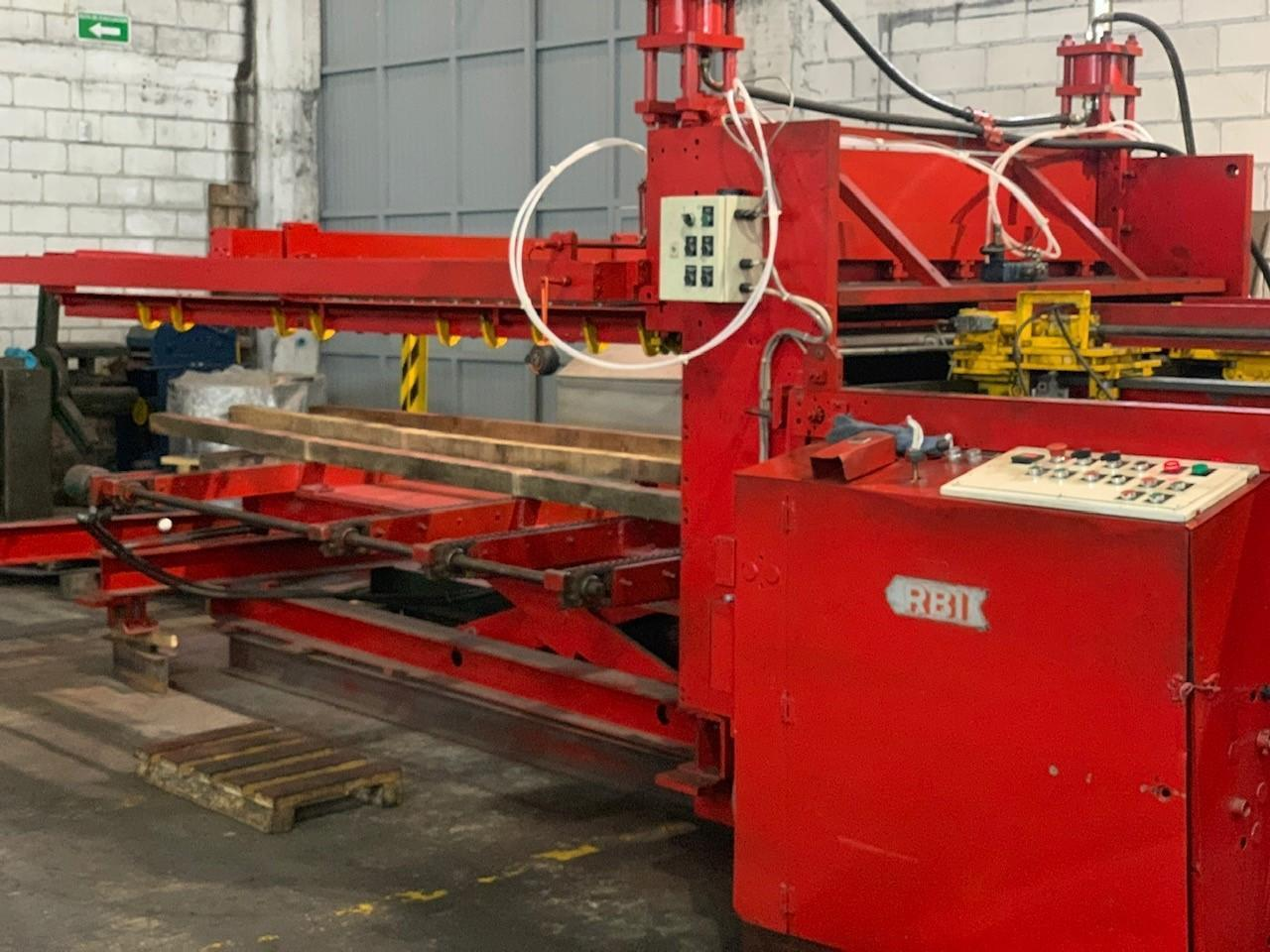 """72"""" x .130"""" x 20,000# Red Bud Cut-to-Length Line"""