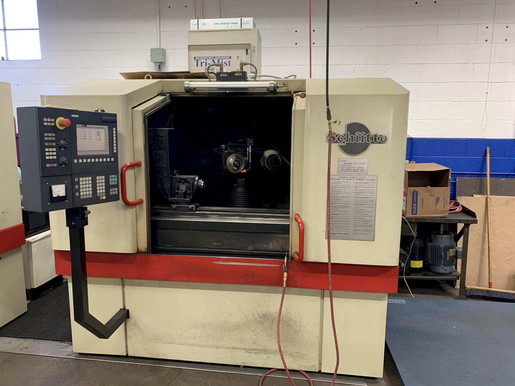 Schutte Model WU-400 4-Axis CNC Tool & Cutter Grinder