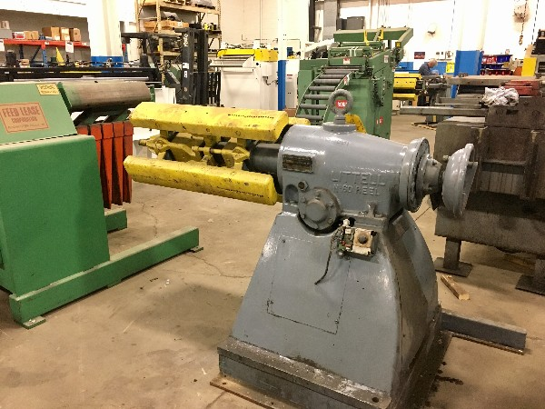 LITTELL Pull Off Coil Reel Uncoiler 6,000 Lbs.