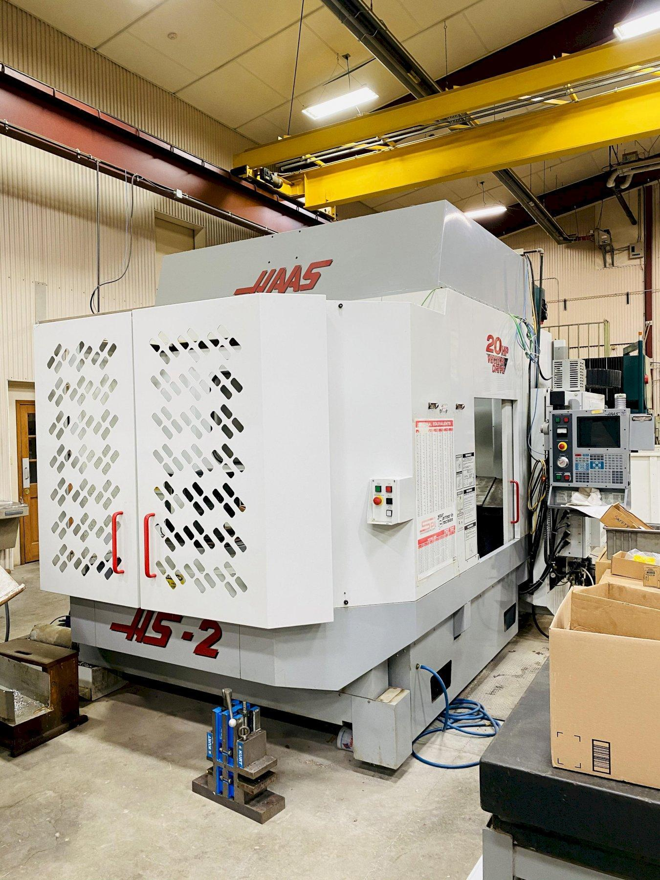 HAAS HS 2RP HORIZONTAL MACHINING CENTER. STOCK # 0104721