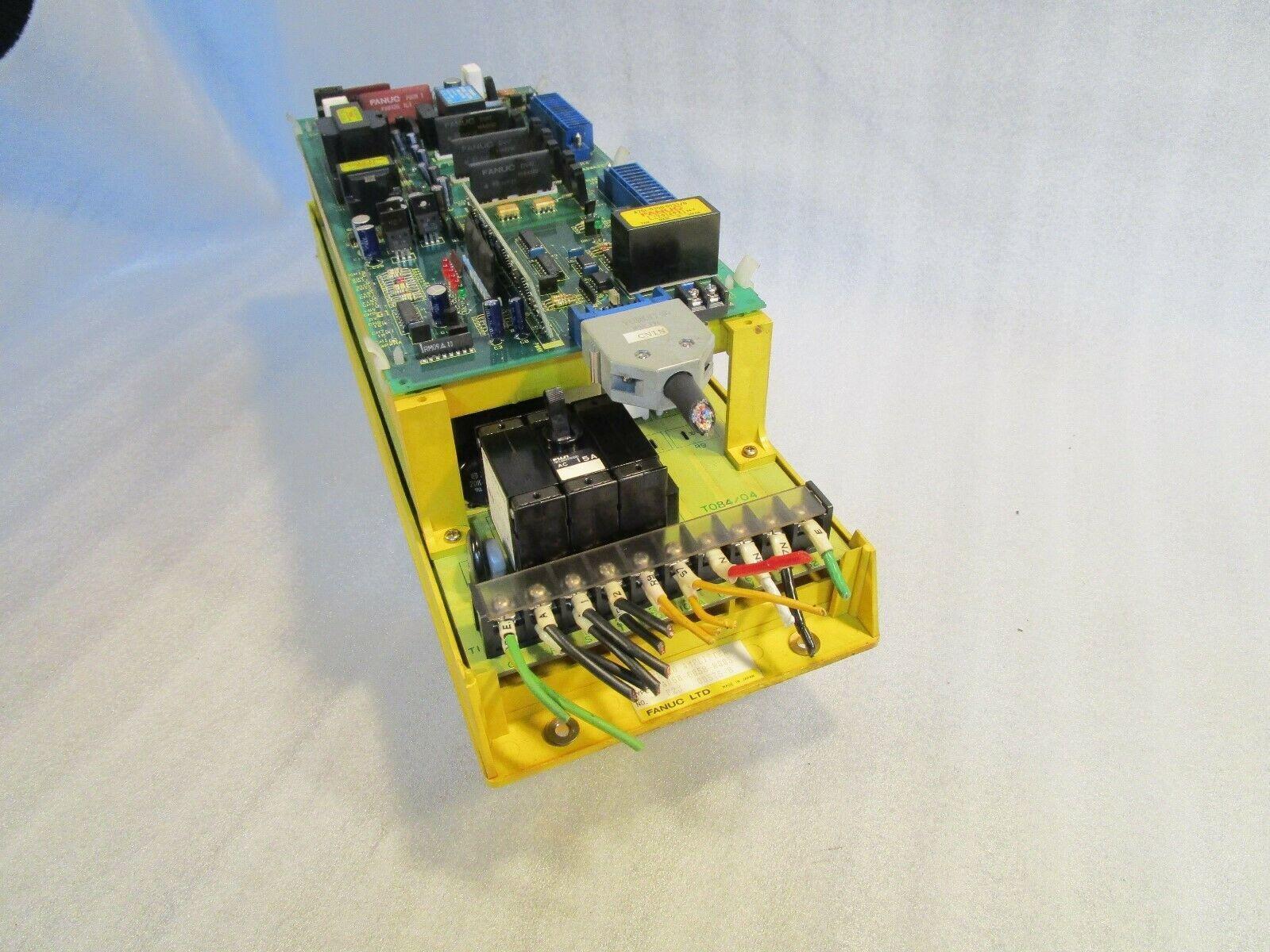 Fanuc A06B-6058-H005 Fanuc AC Axis Drive / Servo Amplifier