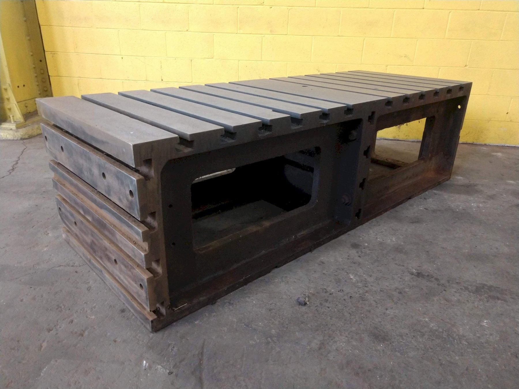"32"" x 42"" x 24"" T SLOT BOX DRILL TABLE: STOCK 13836"