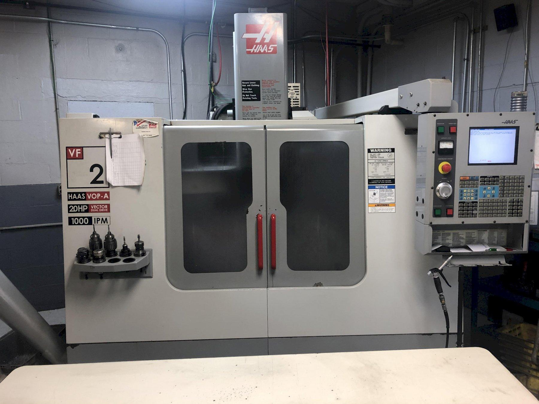 2004 Haas VF-2D - CNC Vertical Machining Center