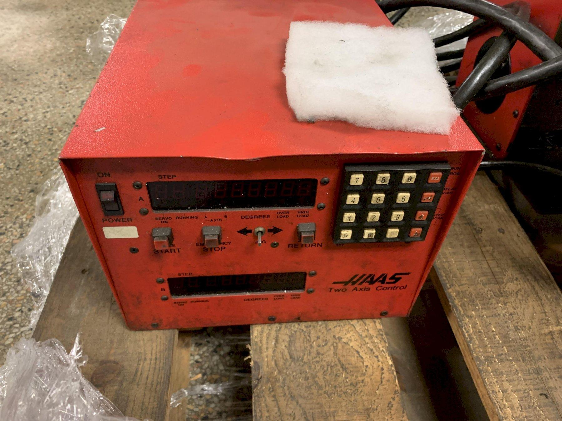 Haas Model TRT-210 Tilting 2-Axis Indexer Rotary Table