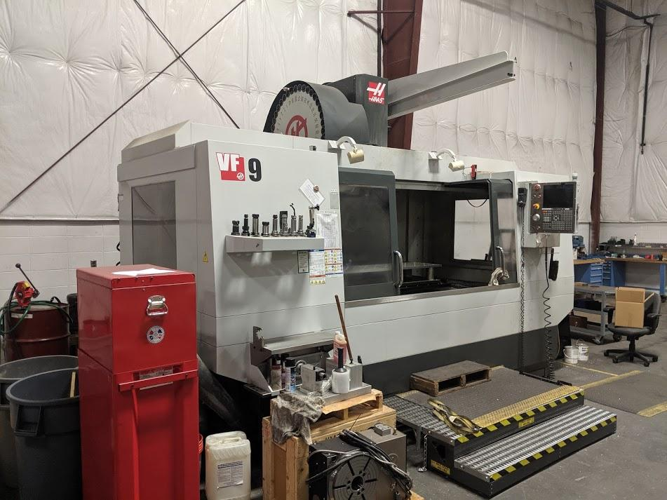 2011 Haas VF-9/40 w/Haas TR310 5 Axis Trunion - Vertical Machining Center