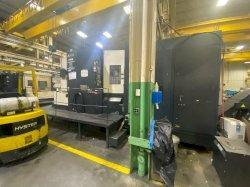 Makino A99E CNC Horizontal Machining Center, Fanuc Pro 3, 31.5