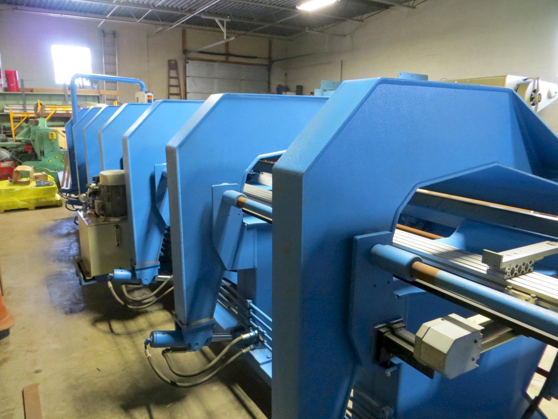 Jorns AG CNC Long Folder Bending Machine