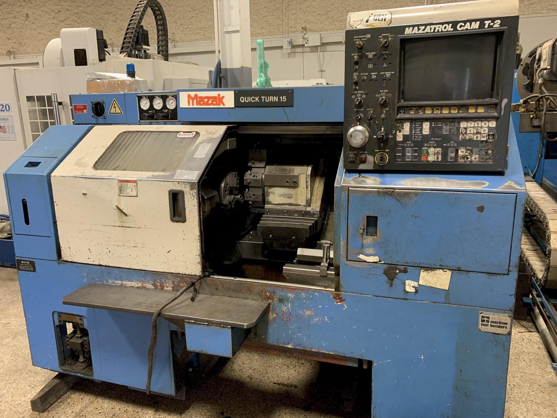 1988 Mazak QT15 CNC Turning Center, serial # A35272