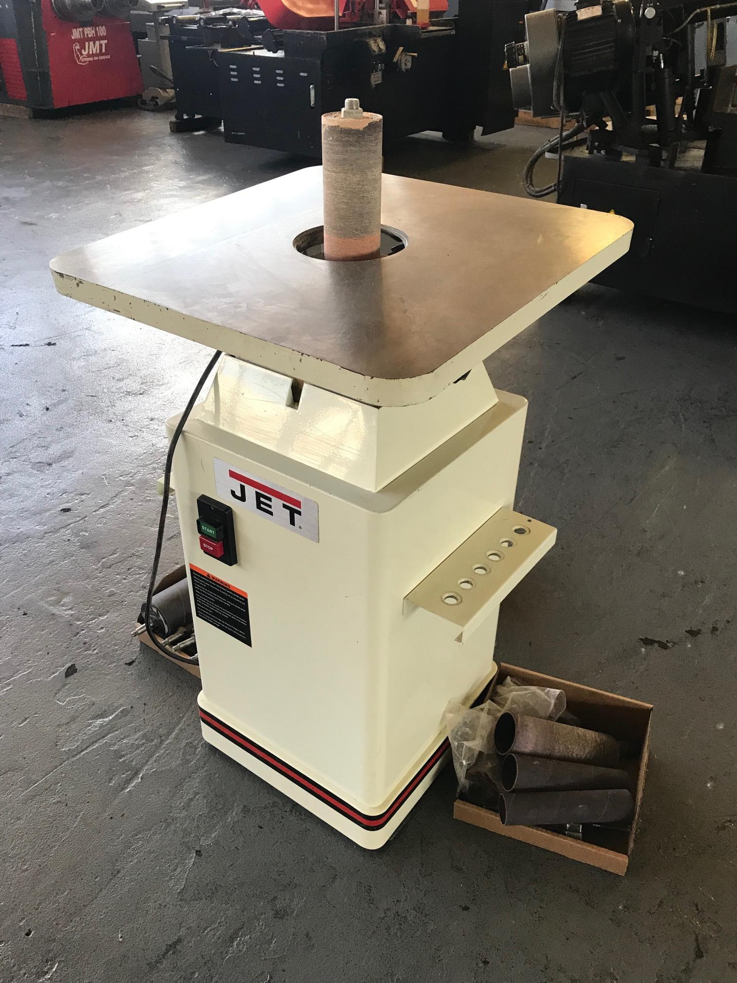 USED JET MODEL JOVS-10 OSCILLATING SPINDLE SANDER, YEAR 2014, STOCK NO. 10623