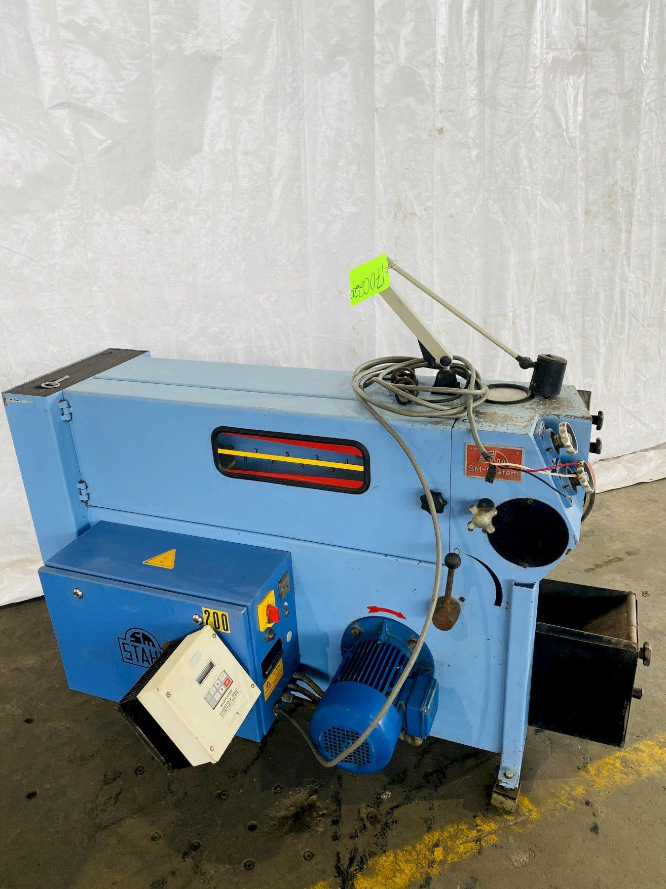 "3"" STAHL SMF-350 BELT SANDER/ POLISHER. STOCK # 0508220"