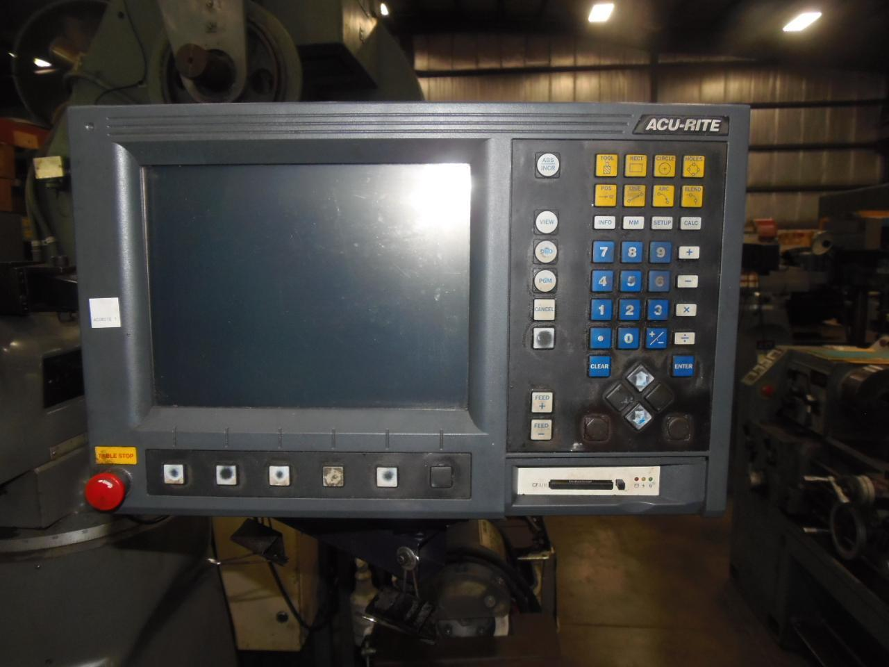 BRIDGEPORT SERIES 1 WITH POWER FEEDS, ACU-RITE CONTROL AND POWER DRAW BAR