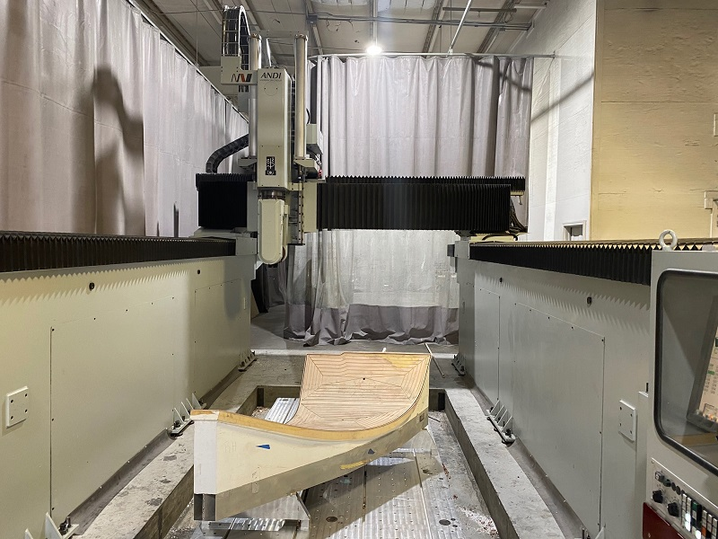 ANDERSON MASS 1540 IP 5-AXIS ROUTER