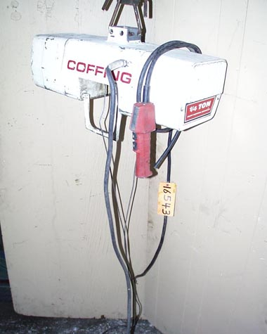 1/4 Ton Coffing Electric Chain Hoist