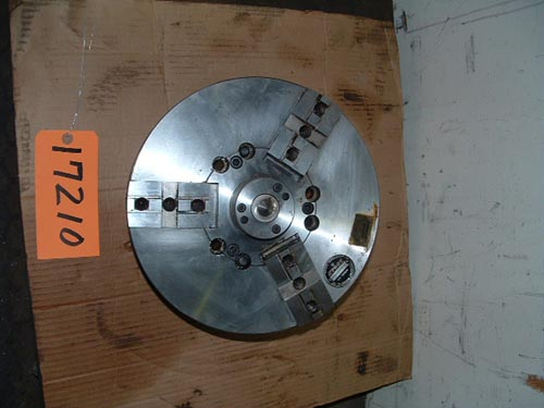 12″ Logan, 3-Jaw Power Chuck,Md.362-12-6,center,A1-6 back,tongue-groove jaws