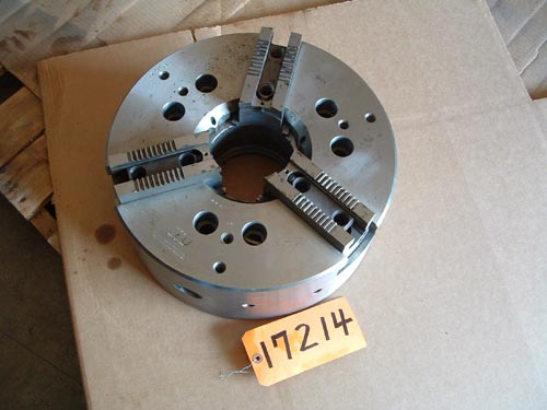 "15"" Cushman, 3-Jaw Power Chuck"