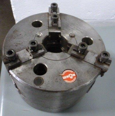 "6-1/4"" Rohm, 3-Jaw Power No. DURO-NC-160, A1-5, 5500 RPM"