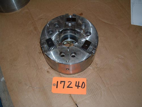 10″ SP Sheffer, 3-Jaw Power Chuck