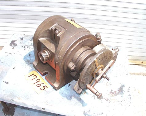 "12"" CINCINNATI DIVIDING HEAD, NO TAILSTOCK"