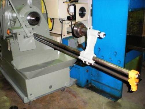 "4-5/8"", MODERN Cut-Off Machine, No. 4B, Manual, 4"" Pipe, Front Slide, 3 HP, Low Price"