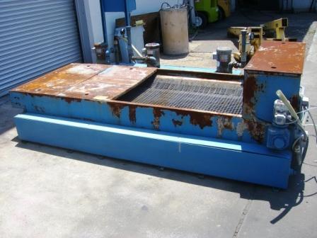 HYDROFLOW, No. FA-60, 2002, Paper Filter, Clean Tank, 10HP ,3-1HP Pump Motors