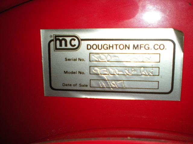 DOUGHTON Air Hose Reel Model 9300-OLP-BW