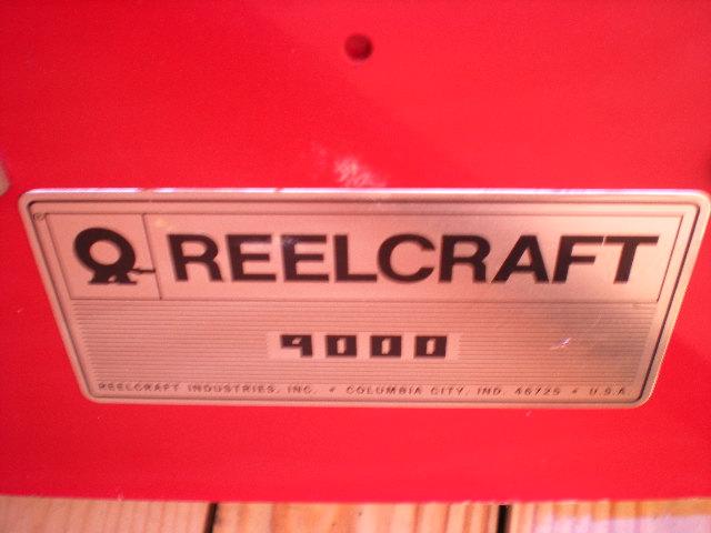 REELCRAFT SPRING RETRACTABLE FUEL HOSE REEL