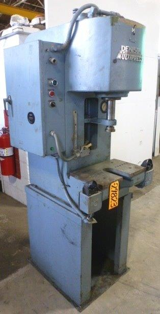 6 Ton MULTIPRESS No. RO65, Gap, 10″ Str., 16″ D.L., 5 HP