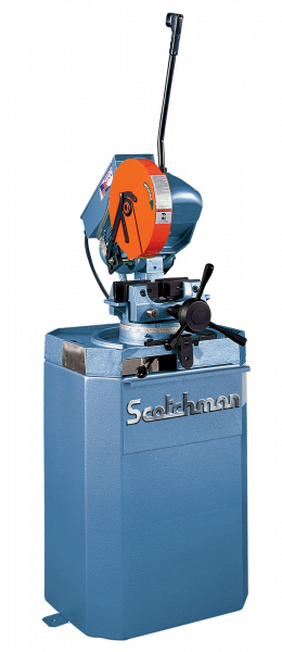 """14"""" SCOTCHMAN No. CPO 350LT, Miter, 22/44 RPM, 2"""" Solid Rounds, Coolant, New"""