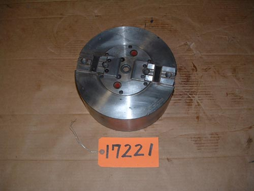 "10"" Cushman, 2-Jaw Power Chuck, No Hole"