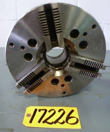 "12"" CUSHMAN 3- Jaw Power,  2-1/2"" Hole, A1-8 Back"