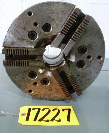 "12"" CUSHMAN 3-Jaw Power, 2-1/2"" Hole, A1-8"