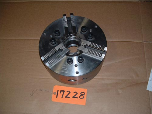 "12"" Cushman, 3-Jaw Power Chuck,Md.1059012-A08C-U-01051,A-8 back"