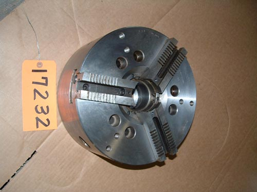 "12"" Cushman, 3-Jaw Power Chuck,Md.10-590-12-Ao8C,A-8 back"