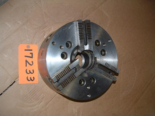 "12"" Cushman, 3-Jaw Power Chuck,Md.10-590-12-A08C,A-8 back"
