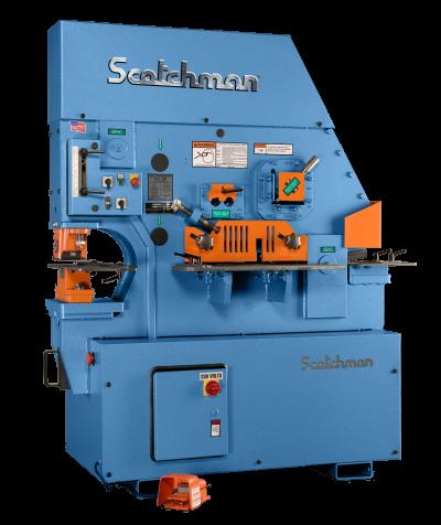 6″ x 6″ x 1/2″ SCOTCHMAN Ironworker, No. FI8510-20M, Hyd., 85 Ton, Five Stations, New