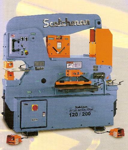 "6"" x 6"" x 1/2"", SCOTCHMAN No. DO 120/200-24M, 120 Ton, Dual Operator, New"
